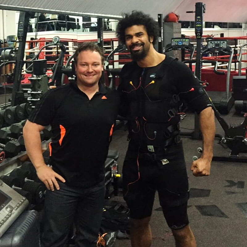 David Haye is even stronger since using EMS!