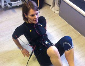 rach b training using ems