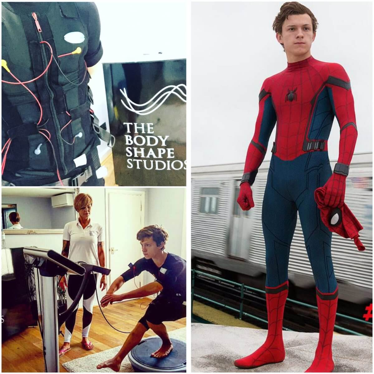 Tom Holland Spiderman EMS Personal Training