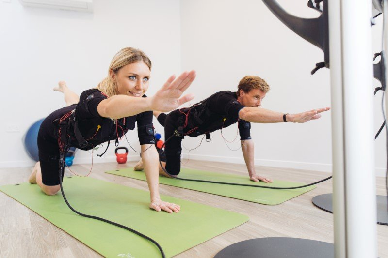 EMS fitness training